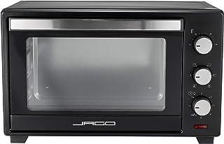 Jago® Mini Four - Capacité 30 L, 1600 W, Minuteur 0-60 min, 100-230°C, 5 Modes de Cuisson, avec Grille et Plaque de Four, ...
