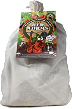 NaturesGoodGuys Live Redworms Composting Red Worms - 1,200 Red Wigglers