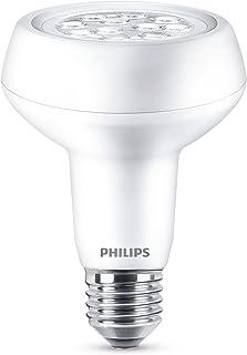 Philips Lighting Bombilla reflector E27 Philips 929001235701-Bombilla LED, casquillo, consume (equivalente a 100 W), no regulable, luz blanca cálida, 7 W, 1 unidad