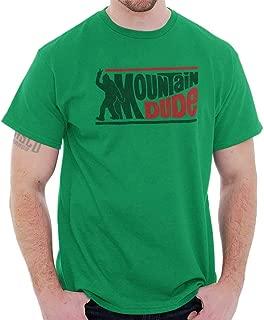 Mountain Dude Urban Legend Bigfoot Hoax T Shirt Tee