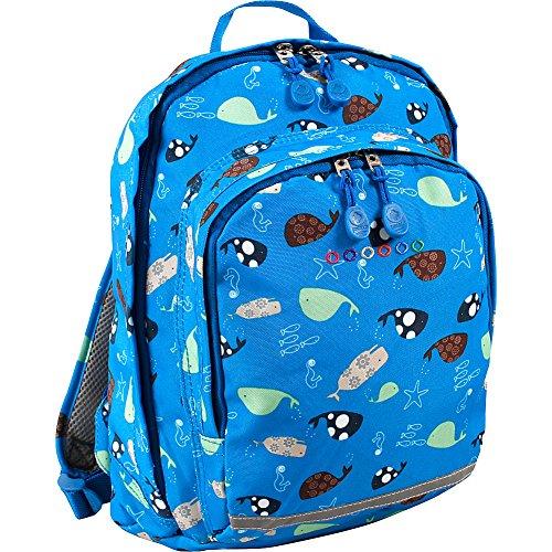 Jworld New York Kids Lakonia - Mochila Casual, 33 cm, Sea World (Azul) - LD01-217