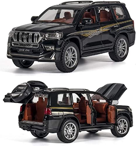 VGRASSP Cruiser Style Toy Car 1:24 Scale Alloy Metal Collectible Pull Back Die-Cast Vehicle Model - 6 Openable Doors ...