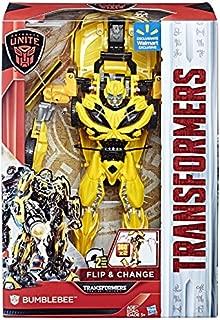 Transformers: The Last Knight Autobots Unite Exclusive 11-inch Flip & Change Autobot Bumblebee