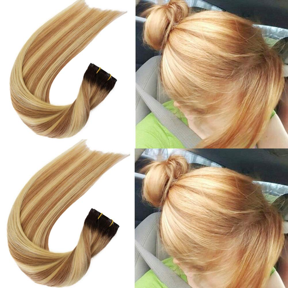 Human Hair Extensions Clip in PU Hai Seamless Purchase on OFFicial