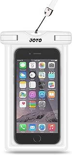 JOTO Universal Waterproof Case, Cellphone Dry Bag for iPhone Xs Max XR XS X 8 7 6S Plus, Galaxy S10 S10e S9 S8 Plus/S6/Note 8 6 5 4, Pixel 3 XL/3 HTC LG Sony Nokia Motorola up to 6.0