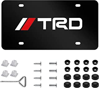 Best trd license plate Reviews