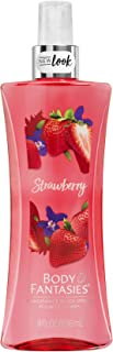 Body Fantasies Signature Fragrance Body Mist for Girls & Women's Strawberry, 236ml   Long Lasting Body Spray and Perfume f...