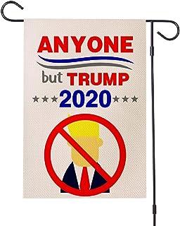 Dump Trump Garden Flag - American President Election Yard Flag, Anyone But Trump Yard Sign, Protest Sign, Outdoor Garden Decorations � 1 Pc