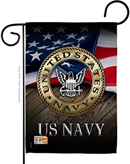 Angeleno Heritage G135035-BO US Navy Americana Military Decorative Vertical Garden Flag, 13