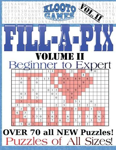 KLOOTO Games Fill-a-Pix: Vol. 2