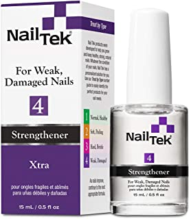 Nailtek Xtra for Difficult and Resistant Nails, 0.5 Fluid Ounce