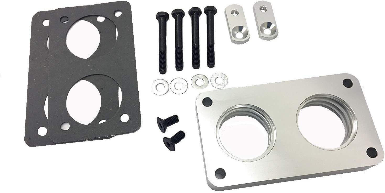 supreme NEW Polish Fort Worth Mall Vortex Throttle Body Spacer 87-95 Ford Fits Bronco F-