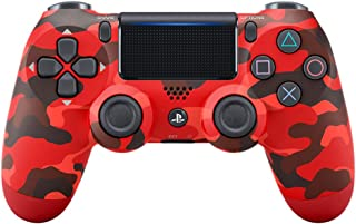 Sony Manette PlayStation 4 officielle, DUALSHOCK 4, Sans fil, Batterie rechargeable, Bluetooth, Red Camo (Rouge Camouflage)