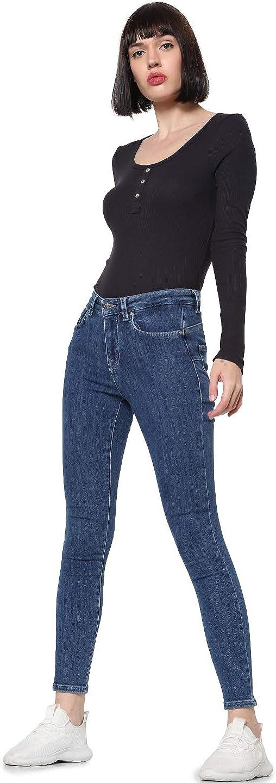 ONLY Women's 最安値 Veronika T-Shirt お得なキャンペーンを実施中 in Size Black XS