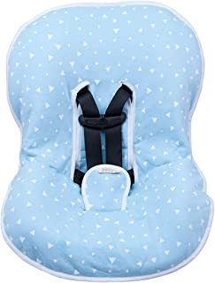 JANABEBÉ Universal Padded Cover Liner for Baby Carriers and CAR SEAT (Maxi COSI MICO, CHICCO, BRITAX, ETC) (Blue Sparkles)