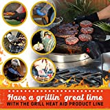 BBQ Gloves Heat Resistant 1,472℉ Extreme. Kitchen Dexterity Handle Oven Cooking Hot Food on Cast Iron, Baking, Barbecue, Smoker. Multi-Purpose Fireproof Indoor Outdoor Use Men & Women. GRILL HEAT AID