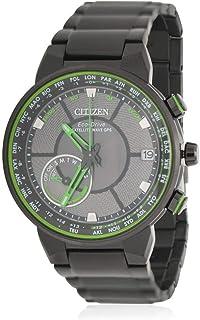Citizen - Reloj de Hombre Eco-Drive Correa de Acero Chapado Ion CC3035-50E