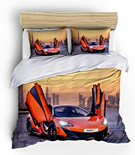 HipBee Kids Sports Car Comforter Sets Twin Size,Teens...