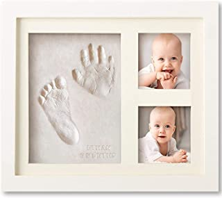 Mumoo Bear Handprint and Footprint Plaster kit Set Photo Frame