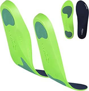 ViveSole Plantar Fasciitis Insoles – Foot Arch Support Orthotic – Firm Foam..
