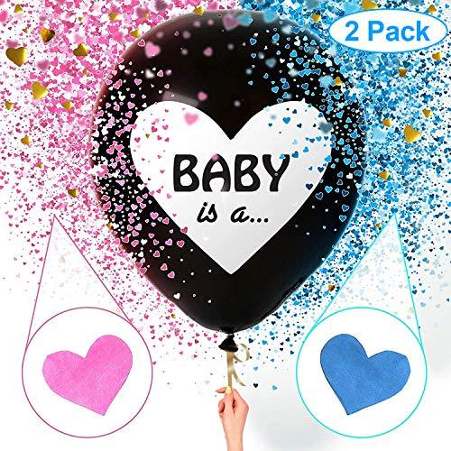 Geschlecht offenbaren Ballon,Boy or Girl Ballon,Luftballons mädchen oder Jungen,Geschlecht offenbaren Party,Baby Shower Party Dekorationen