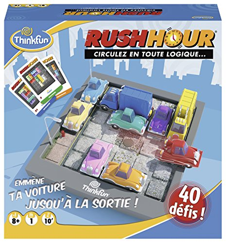 Ravensburger- Rush Hour - Jeu de logique-ThinkFun- A partir