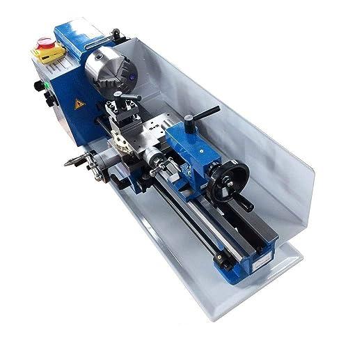 """165013 Digital 14"""" Steel Metal Working Mini Lathe Machine 100mm Chuck"""