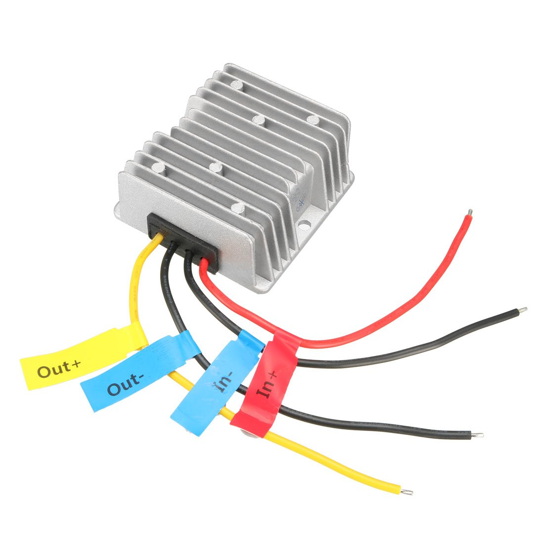 uxcell DC 48V to DC 24V 10A 240W Waterproof Car Power Supply Module Voltage Converter Regulator Transformer