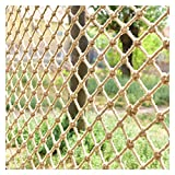 Kinder Absturzsicherung Sicherheitsnetz Balkon Anti-Sturz Net Zaun Kinder Net Hanf-Seil-Net Treppen Schutz Net Safety Net Dekoration Net Kletternetz Restaurant Bar Decken Net h/ängende Kleidung Net