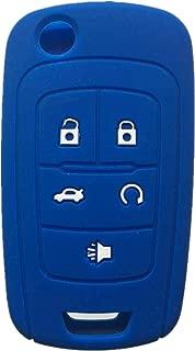 Rpkey Silicone Keyless Entry Remote Control Key Fob Cover Case protector For Chevrolet Camaro Cruze Limited Equinox Impala Limited Malibu Malibu Limited Sonic OHT01060512