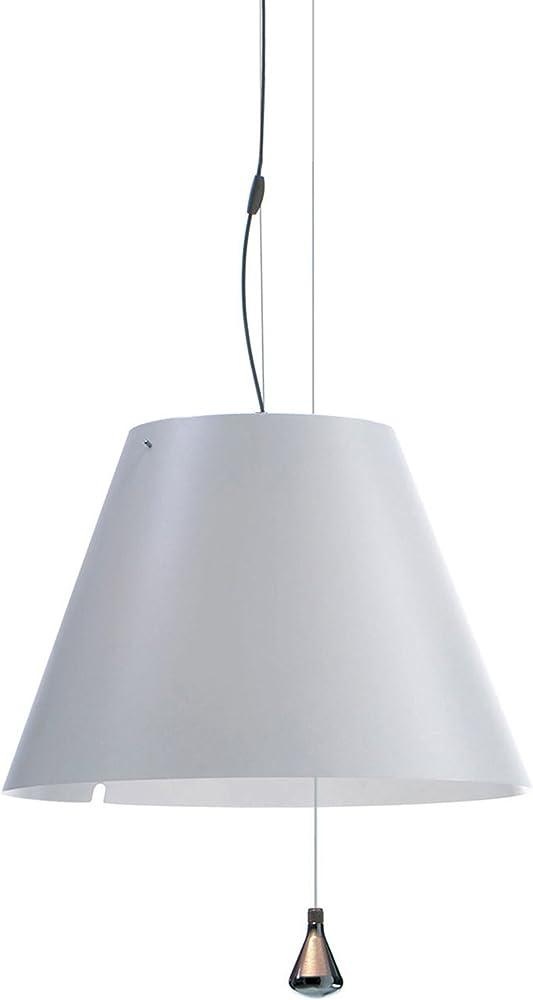 Luceplan costanza d13 sa.s.,lampada a sospensione,paralume in policarbonato 1D130SA20020BIA