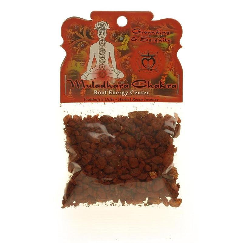 出身地花輪北東樹脂Incense Root Chakra Muladhara?–?接地and Inner Peace?–?1.2ozバッグ
