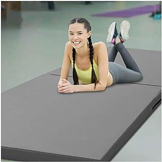 Gymnastikmattor Fällbara, Förtjockad Rebound Yoga Matta, Lätt Att Bära Gymnastikmatta För Familjeaktiviteter Studera Oxfor...