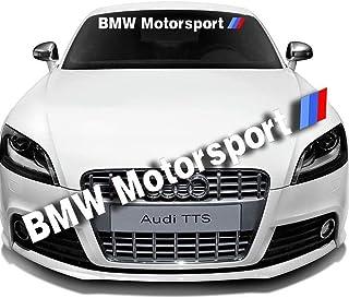 Blizim Stickers de D/écoration Autocollants de Pare-Brise de Voiture pour BMW