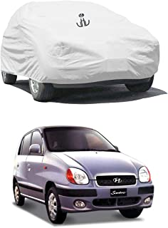 UTTU Silver Parachute Waterproof Car Cover Santro