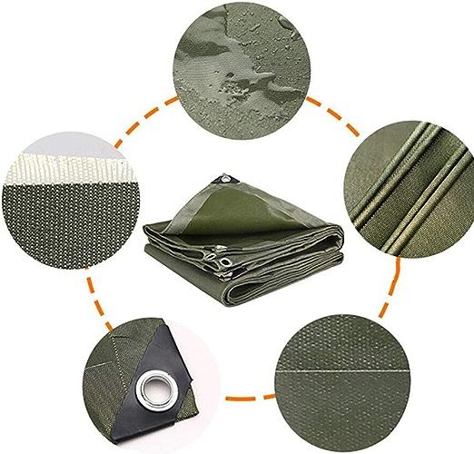 HRFHLHY épaissie PE Plastique Pluie Toile Soleil Bache Extérieur Toile Auvent Porte-Feuille Isolant Pliage Tissu,3X5m