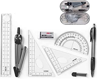 Sponsored Ad – Mathematical Geometry Set,Essential Tools For School,Geometry Compass Sets,EducationalSupplies,Maths Protra...