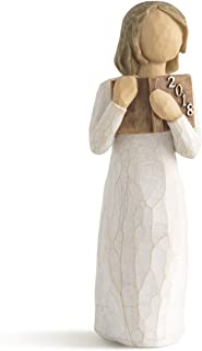 Willow Tree Commemorate 2018 Hand Painted Sculpture Figure