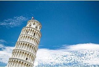 子供大人の青い空の下でピサの塔の塔の塔の塔の塔大人500/1000/1500/2000ピース難しいパズルファミリー解凍ゲームを飾るプレゼント 0103 (Color : No partition, Size : 500 pieces)