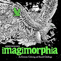 Imagimorphia Coloring Book by Kerby Rosanes