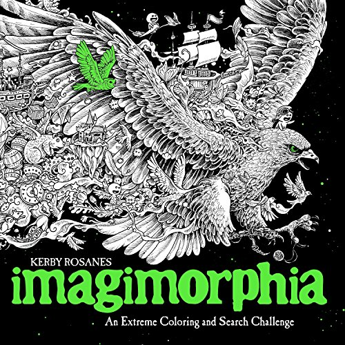 Imagimorphia: An Extreme Coloring and Search Challenge Now $5.80 (Was $14.00)