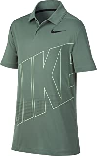 Nike New Boys DRI FIT Essential GRFX 2 Golf Polo