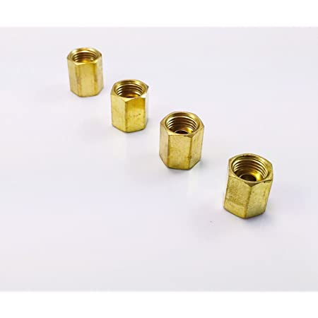 5//16 Fuel Line Tube Nut Pack of 4 14mm x 1.5