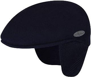 قبعة Kangol رجالية من الصوف 504 Earlap مسطحة