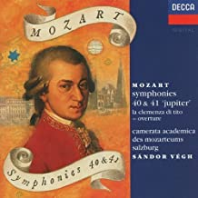 Mozart: Symphonies 40, 41 / Clemenza di Tito- Overture
