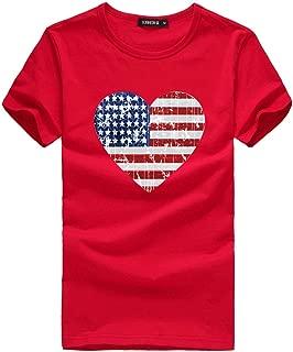 New in Respctful✿Women Summer Tops Casual Scoop Neck T-Shirt Short Sleeve Chiffon USA Tops Shirts