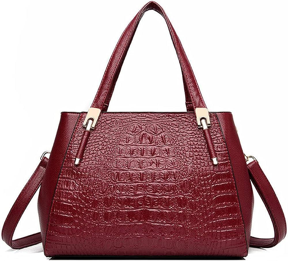 Women Handbag Crocodile Pattern List price Shoulder Leather Fashion Mail order cheap