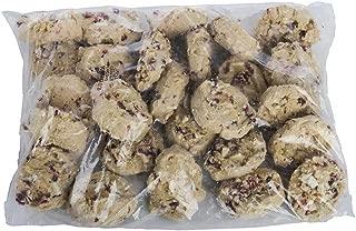 Otis Spunkmeyer Supreme Indulgence Cranberry White Chocolate Duo Cookies, 3 Ounce -- 104 per case.