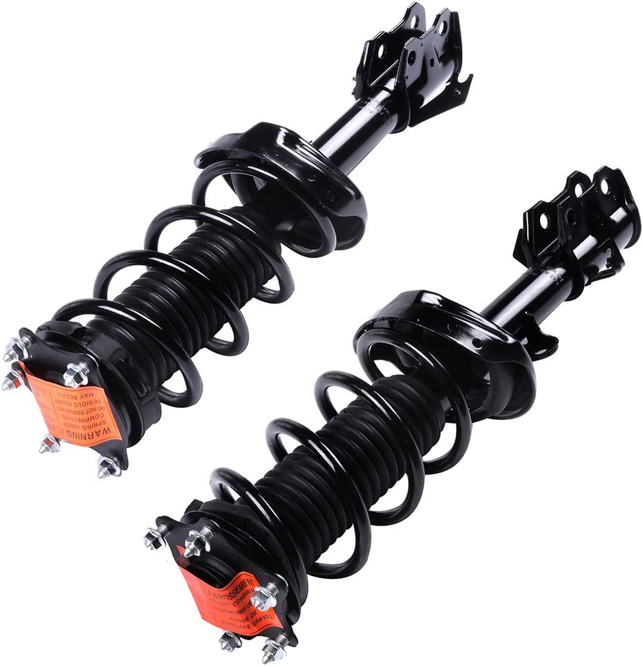 CCIYU 2 pcs Front Strut New Orleans Mall and Assembly 272491 272492 Spring shock Fees free