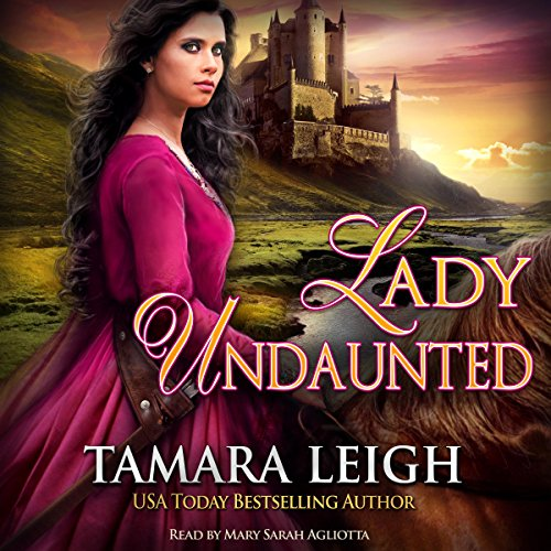 Lady Undaunted audiobook cover art